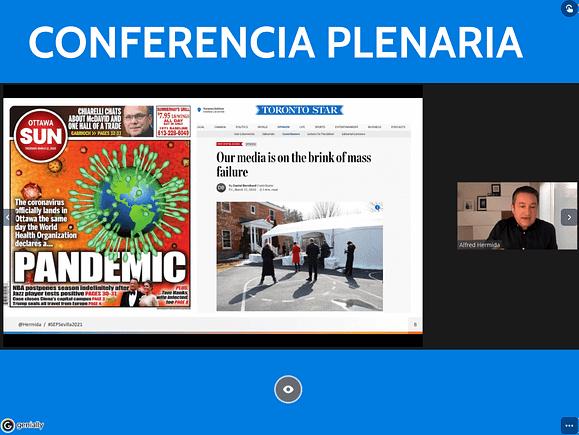 Alfred Hermida keynote